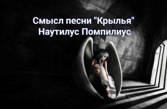 """Смысл песни """"Крылья"""" - Наутилус Помпилиус"""