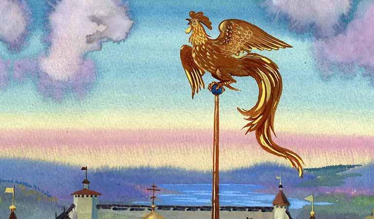 Смысл сказки Золотой петушок - Пушкин
