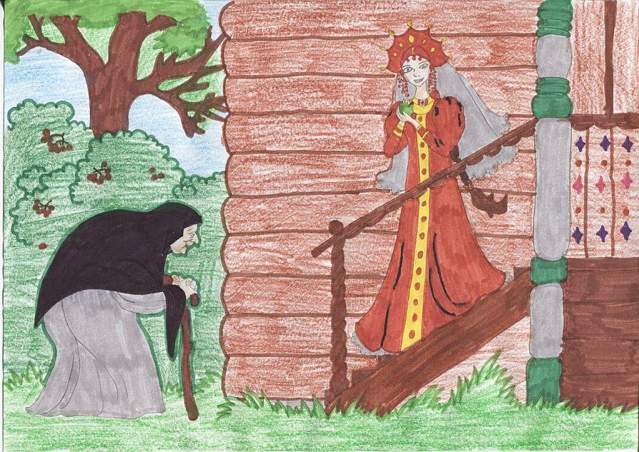 Смысл сказки о мертвой царевне и семи богатырях