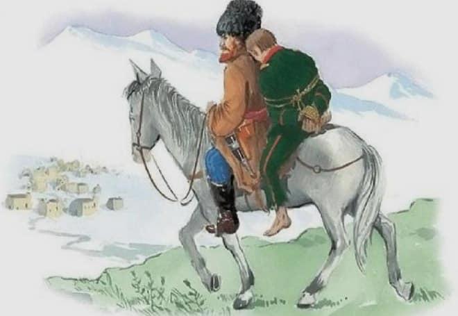 Смысл произведения Кавказский пленник и его названия