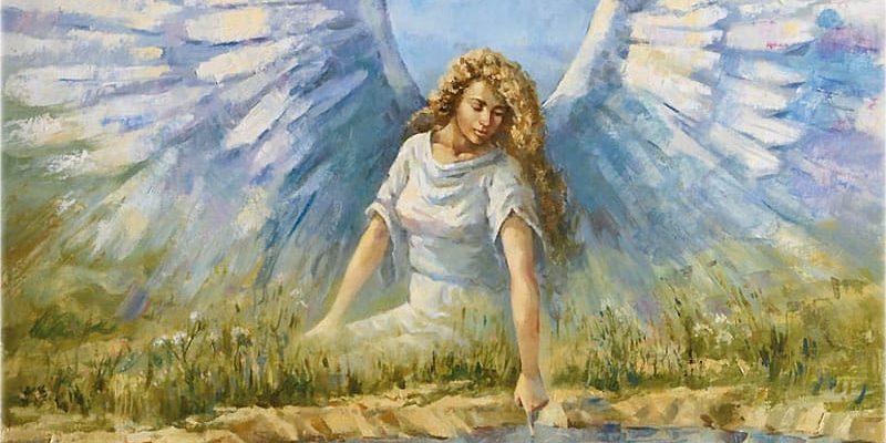 Смысл стихотворения Лермонтова - Ангел