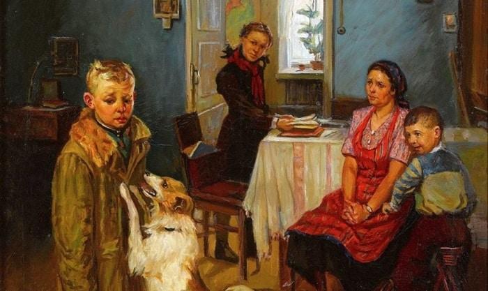 """Краткая история создания картины """"Опять двойка"""" Ф. Решетникова"""