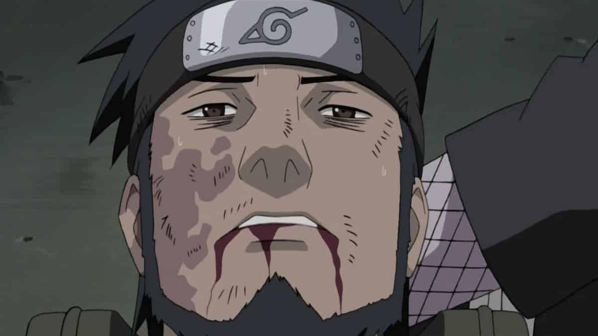 "В какой серии ""Наруто"" умер Асума Сарутоби?"