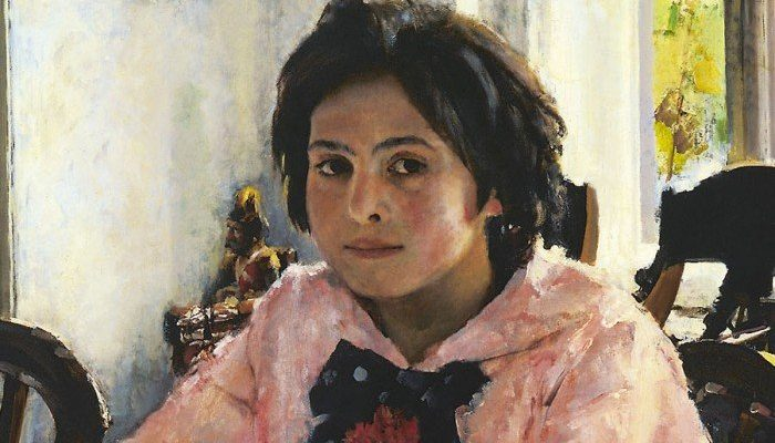 История создания картины «Девочка с персиками»