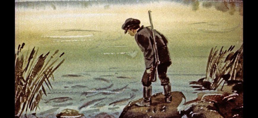 Какой жанр у произведения «Васюткино озеро»?