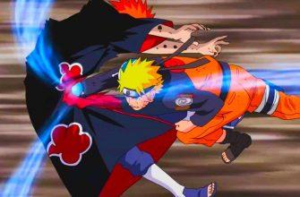 В какой серии Наруто побеждает Пейна - лидера Акацуки?