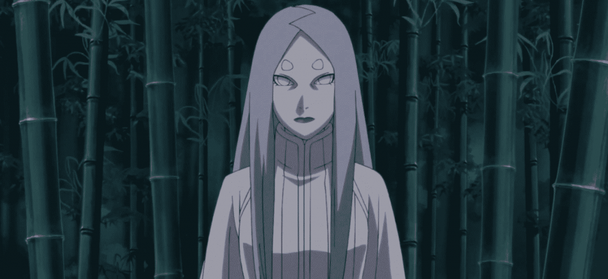 В какой серии впервые появится персонаж Кагуя?