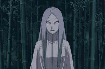 В какой серии Наруо встретит персонажа Кагую?