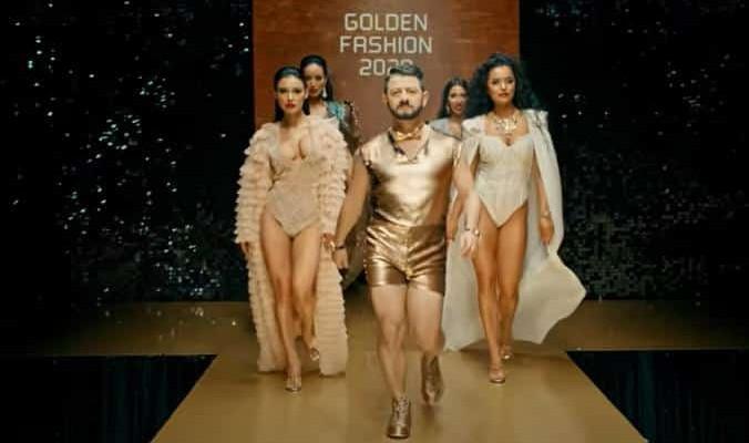 Кто снялся и поразил всех в клипе Галустяна - Золото