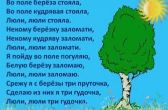 """Смысл русской народной песни """"Во поле береза стояла"""""""