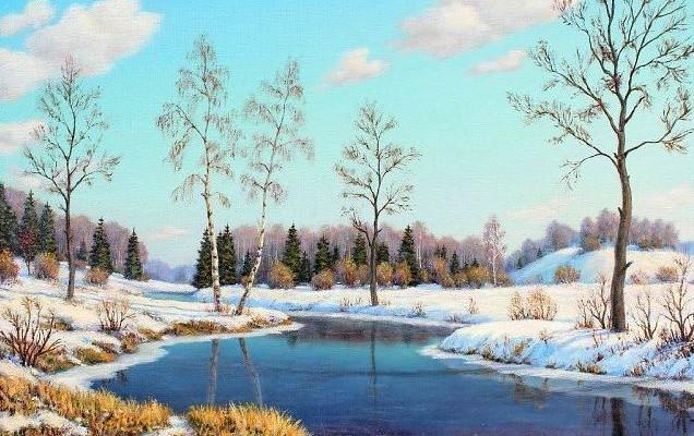 """Смысл стихотворения Ахматовой """"Перед весной бывают дни такие"""""""