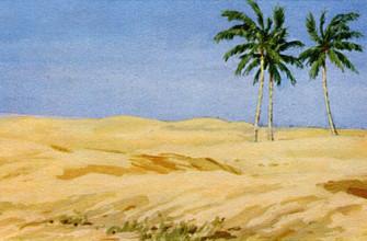 """История создания стихотворения Лермонтова """"Три пальмы"""""""