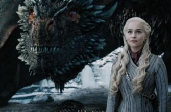 Как называется сериал про драконов и блондинку?