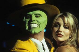 Как называется фильм, где у героя зеленое лицо?