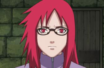 В какой серии умрет Карин из аниме Наруто