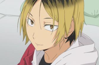 """В какой серии аниме-фильма """"Haikyu!!"""" появится Кенма"""