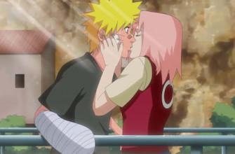 В какой серии аниме-фильма Сакура поцелует Наруто