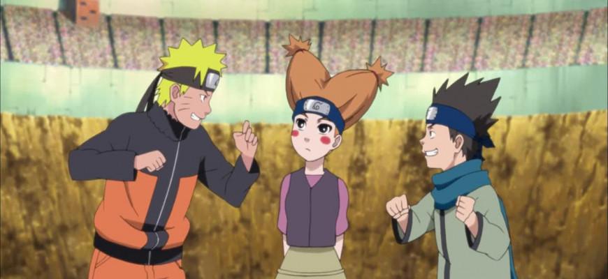 "В какой серии аниме ""Наруто"" проходит экзамен на чунина?"