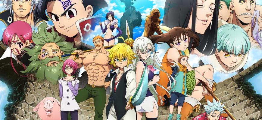 """Хронологический порядок: в каком порядке смотреть аниме """"Семь смертных грехов"""""""