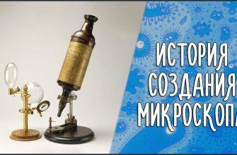 История создания микроскопа от Галилея до сегодня